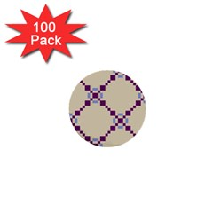 Pattern Background Vector Seamless 1  Mini Buttons (100 pack)