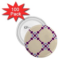 Pattern Background Vector Seamless 1 75  Buttons (100 Pack)