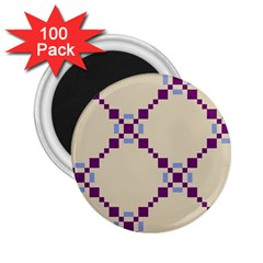 Pattern Background Vector Seamless 2.25  Magnets (100 pack)