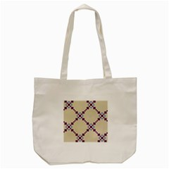 Pattern Background Vector Seamless Tote Bag (Cream)