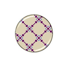 Pattern Background Vector Seamless Hat Clip Ball Marker