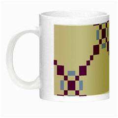 Pattern Background Vector Seamless Night Luminous Mugs