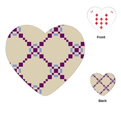 Pattern Background Vector Seamless Playing Cards (heart)
