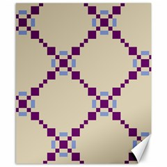Pattern Background Vector Seamless Canvas 8  X 10