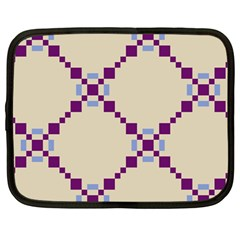 Pattern Background Vector Seamless Netbook Case (Large)