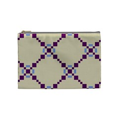 Pattern Background Vector Seamless Cosmetic Bag (Medium)