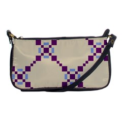 Pattern Background Vector Seamless Shoulder Clutch Bags