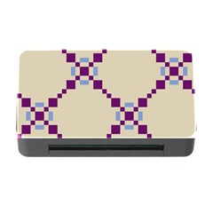 Pattern Background Vector Seamless Memory Card Reader with CF