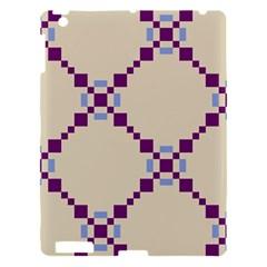 Pattern Background Vector Seamless Apple iPad 3/4 Hardshell Case