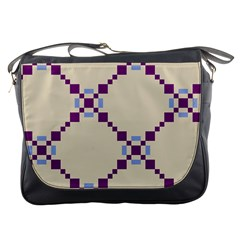 Pattern Background Vector Seamless Messenger Bags