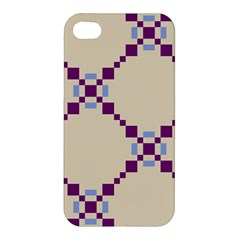Pattern Background Vector Seamless Apple iPhone 4/4S Premium Hardshell Case