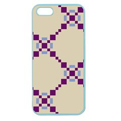 Pattern Background Vector Seamless Apple Seamless Iphone 5 Case (color)