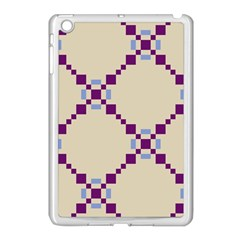 Pattern Background Vector Seamless Apple Ipad Mini Case (white)