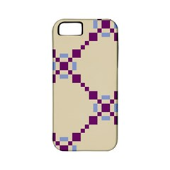 Pattern Background Vector Seamless Apple Iphone 5 Classic Hardshell Case (pc+silicone)