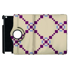 Pattern Background Vector Seamless Apple Ipad 3/4 Flip 360 Case