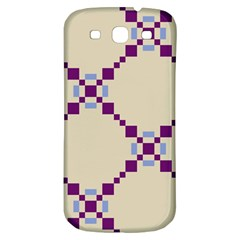Pattern Background Vector Seamless Samsung Galaxy S3 S III Classic Hardshell Back Case
