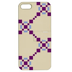Pattern Background Vector Seamless Apple Iphone 5 Hardshell Case With Stand
