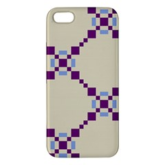 Pattern Background Vector Seamless Apple Iphone 5 Premium Hardshell Case