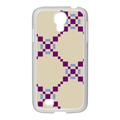 Pattern Background Vector Seamless Samsung Galaxy S4 I9500/ I9505 Case (white)