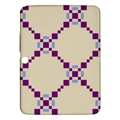 Pattern Background Vector Seamless Samsung Galaxy Tab 3 (10 1 ) P5200 Hardshell Case