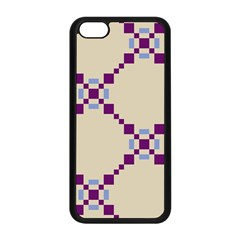 Pattern Background Vector Seamless Apple Iphone 5c Seamless Case (black)