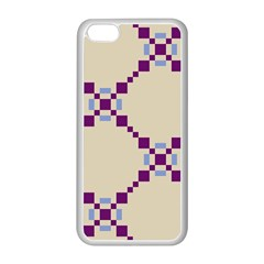 Pattern Background Vector Seamless Apple iPhone 5C Seamless Case (White)