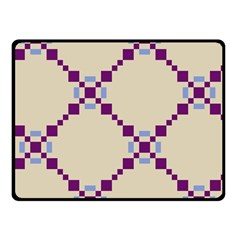 Pattern Background Vector Seamless Double Sided Fleece Blanket (Small)