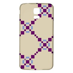 Pattern Background Vector Seamless Samsung Galaxy S5 Back Case (White)
