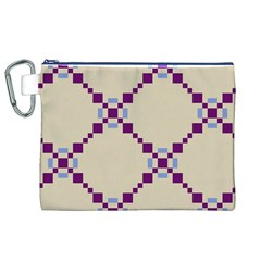 Pattern Background Vector Seamless Canvas Cosmetic Bag (xl)