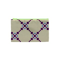 Pattern Background Vector Seamless Cosmetic Bag (XS)