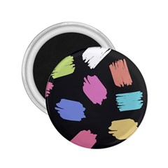 Many Colors Pattern Seamless 2 25  Magnets
