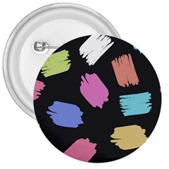 Many Colors Pattern Seamless 3  Buttons