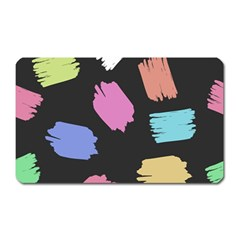 Many Colors Pattern Seamless Magnet (rectangular)