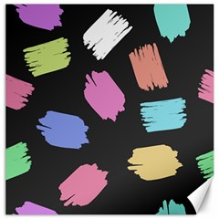 Many Colors Pattern Seamless Canvas 12  X 12