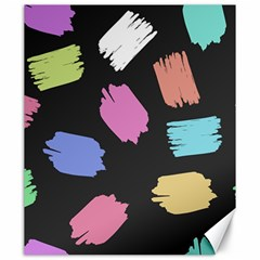 Many Colors Pattern Seamless Canvas 20  X 24