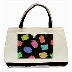 Many Colors Pattern Seamless Basic Tote Bag (two Sides)