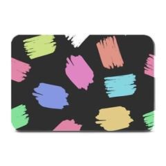 Many Colors Pattern Seamless Plate Mats