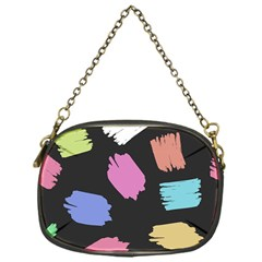 Many Colors Pattern Seamless Chain Purses (one Side)