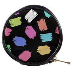 Many Colors Pattern Seamless Mini Makeup Bags