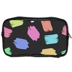 Many Colors Pattern Seamless Toiletries Bags 2 Side