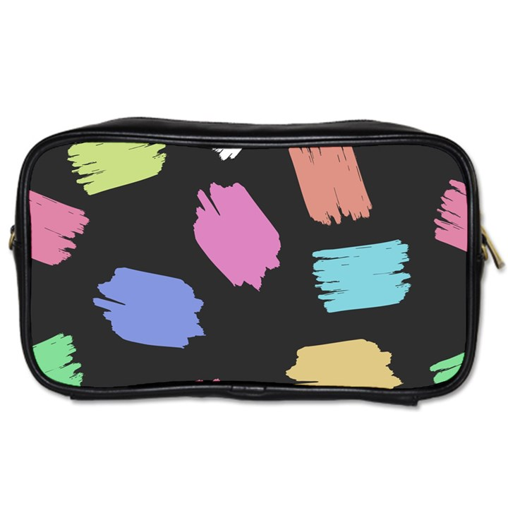Many Colors Pattern Seamless Toiletries Bags 2-Side