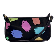 Many Colors Pattern Seamless Shoulder Clutch Bags