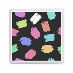 Many Colors Pattern Seamless Memory Card Reader (Square)