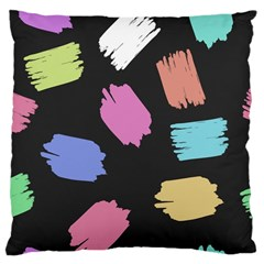 Many Colors Pattern Seamless Large Cushion Case (two Sides)
