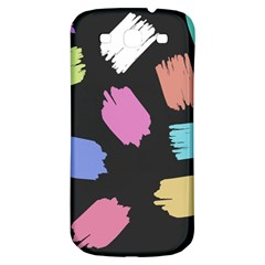 Many Colors Pattern Seamless Samsung Galaxy S3 S Iii Classic Hardshell Back Case