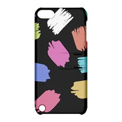 Many Colors Pattern Seamless Apple iPod Touch 5 Hardshell Case with Stand
