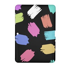 Many Colors Pattern Seamless Samsung Galaxy Tab 2 (10.1 ) P5100 Hardshell Case