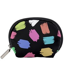 Many Colors Pattern Seamless Accessory Pouches (Small)