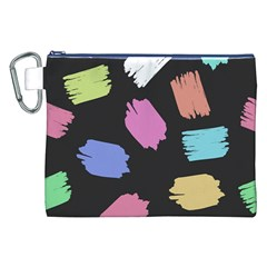 Many Colors Pattern Seamless Canvas Cosmetic Bag (xxl)
