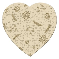 Pattern Culture Seamless American Jigsaw Puzzle (Heart)